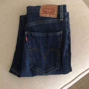 Levi's Mile High Super Skinny Jeans Size 28
